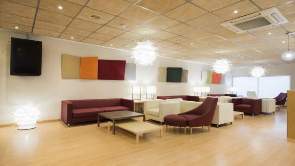 Sala VIP Azahar en el aeropuerto de Sevilla