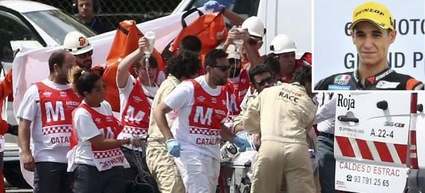 Muere el piloto español de Moto2 Luis Salom tras sufrir un grave accidente en Montmeló