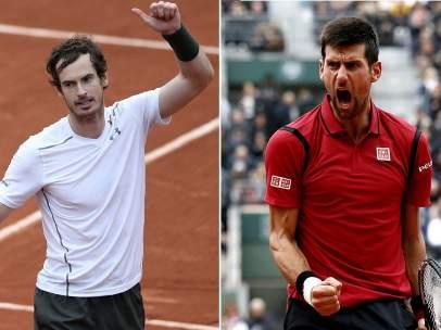 Murray y Djokovic