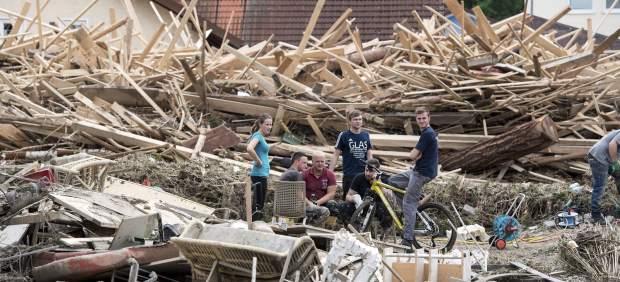 El temporal que azota Alemania deja once muertos y daños materiales por valor de 450 millones