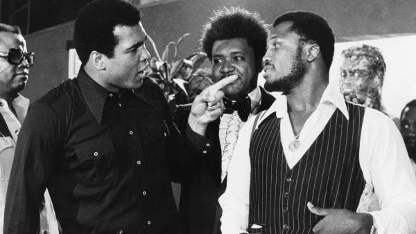 Ali, King y Frazier