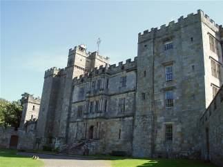Castillo de Chillingham, en Inglaterra