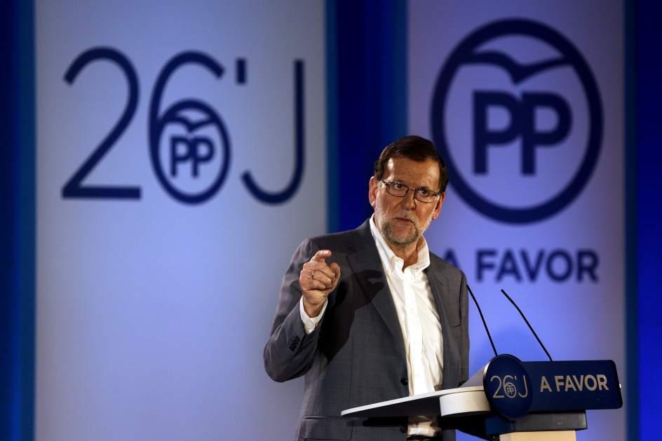 Rajoy reclama derecho a gobernar