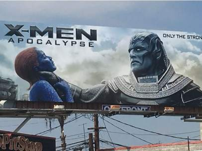Cartel polémico de 'X-Men: Apocalipsis""