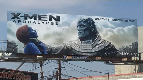 """Cartel polémico de 'X-Men: Apocalipsis"""""""