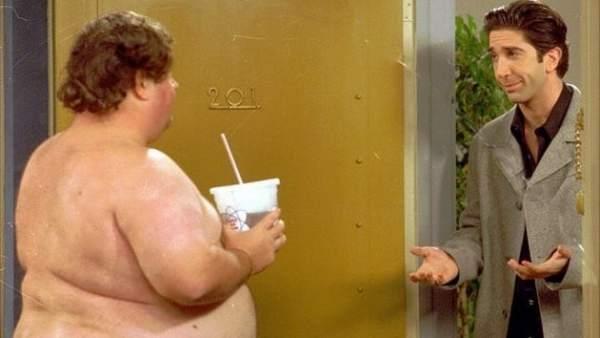 """El """"tío feo desnudo"""" de Friends"""