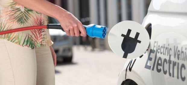 Recarga coche eléctrico, vehículo eléctrico