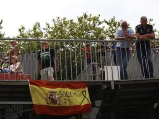 Bandera y lazo