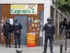 Banc Expropiat okupa un nuevo espacio en Gràcia