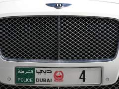 Matrícula de Emiratos Árabes Unidos