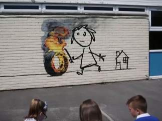 Nuevo mural de Banksy