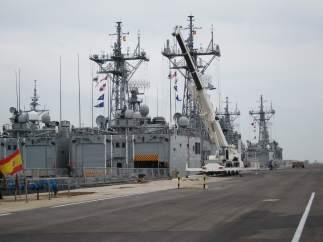 Imagen De La Base De Rota (Cádiz)