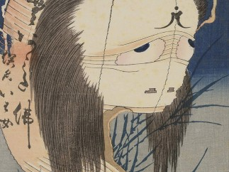 Katsushika Hokusai (1760-1849), The Vengeful Ghost of Oiwa, around 1831/ 32