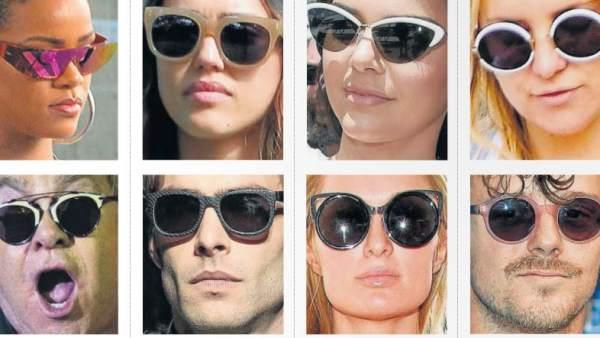 f71d01b0495e7 Diferentes estilos de gafas de sol que se llevan esta temporada. GTRES