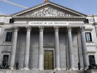Puerta principal del Congreso de los Diputados