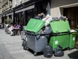 Huelga de basureros en París