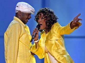 Whitney Houston y Bobby Brown