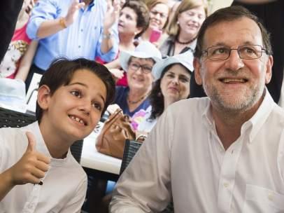 Mariano Rajoy y Pablito