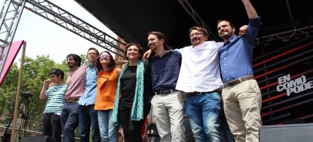 La 'coctelera' de Unidos Podemos: Iglesias carece de control sobre el 40% del grupo