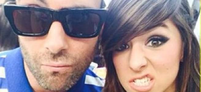 Adam Levine y Christina Grimmie