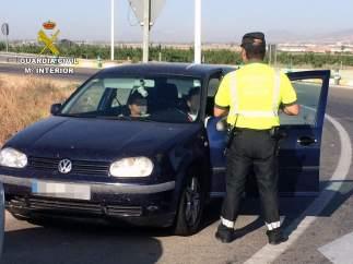 Guardia Civil detiene a un joven en Alhama de Murcia por conducir a 192 km/h