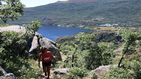 Imagen de una de las ediciones de la Carrera por Montaña de Sanabria