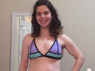 Primera foto en bikini