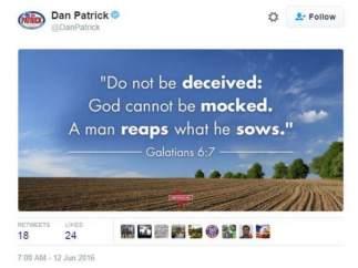 Tuit de Dan Patrick