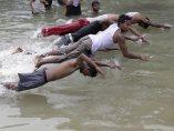 Calor asfixiante en India