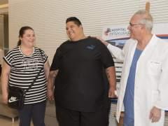 Hombre más obeso de España Hospital Granada