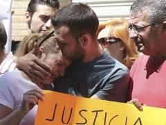 Manifestación en apoyo a Alejandro