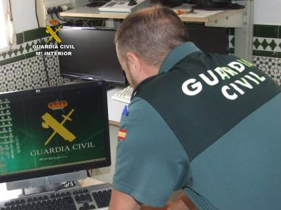 Guardia Civil tras robo en una finca