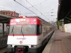 Heridos dos menores al saltar de un tren de Cercanías en marcha