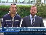 Adrián Moreno y su abogado