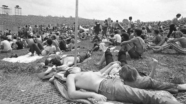Baron Wolman - Sin título, descanso en Woodstock