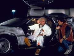 DeLorean en 'Regreso al futuro'
