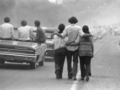 El productor y el fotógrafo de Woodstock explican en Madrid el seísmo contracultural de 1969