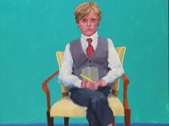 David Hockney presenta 82 retratos de personas sentadas pintados en dos años y medio