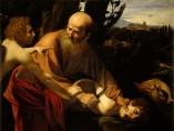 Michelangelo Merisi da Caravaggio - El sacrificio de Isaac, 1603