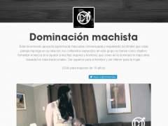 Blog 'Dominación machista', que hace apología de la violencia hacia la mujer, y que ha sido denunciado por el Consell de l'Audiovisual de Catalunya (CAC) con el apoyo del Govern de la Generalitat.