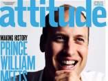 El príncipe Guillermo, en 'Attitude'
