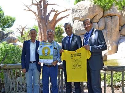 Presentación de la 4ª Carrera en Manada Bioparc Valencia