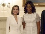 MICHELLE OBAMA Y LETIZIA