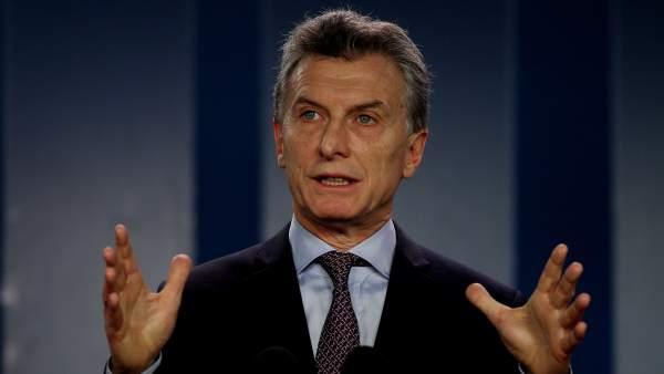 Mauricio Macri en Colombia