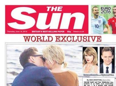 Taylor Swift besa a su nueva pareja