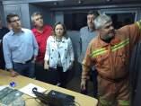 La Diputación duplica las brigadas que intervienen en el incendio de Bolbaite