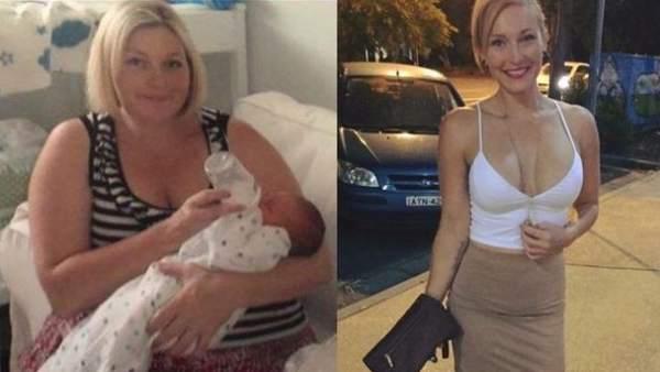 Una madre soltera pierde 60 kilos en nueve meses y su vida cambia radicalmente