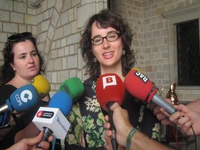La presidenta de TMB y concejal de Movilidad de Barcelona, Mercedes Vidal
