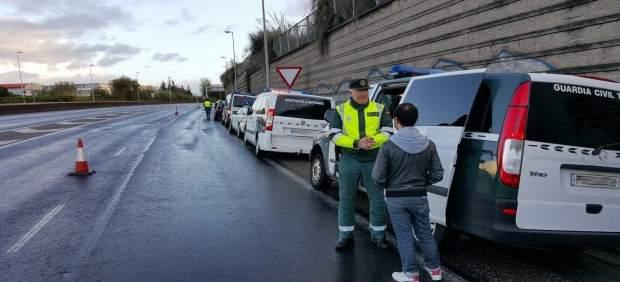 Control de la Guardia Civil por drogas y alcohol