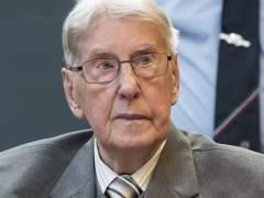Reinhold Hanning, antiguo miembro de las SS hitlerianas.